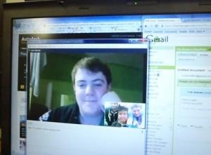 JNo on webcam