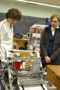 showing the 610 robot