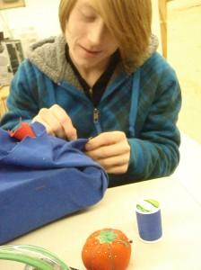 bumper sewing