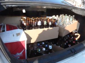 trunk full