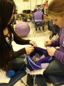 group knitting