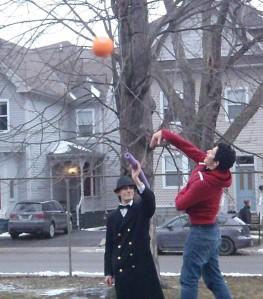 throwing practice
