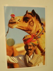 postcard from India