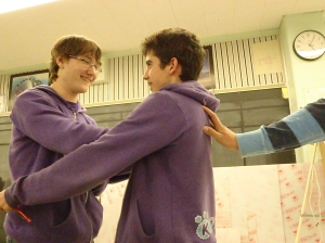 hugging lessons
