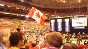 Canadian Cheering Section